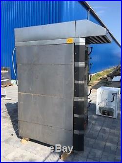 Wachtel Backofen Etagenofen Typ PICCOLO I 5 mit 8 Backkammern Bj 2002