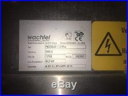 Wachtel Backofen Etagenofen Typ PICCOLO I 8 Pro mit 8 Backkammern Bj 2003