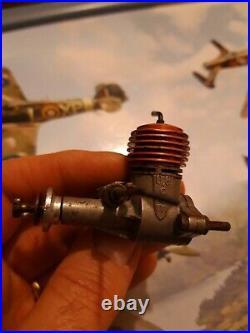 Webra Piccolo Mk1 0.8cc 049 diesel engine, 1954 early model, nice condition