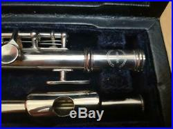 Weimar Piccolo Silver Used Item from Japan Classic Music Instrument