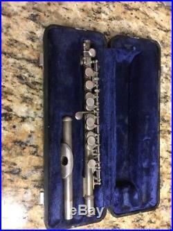 Wm. S. Haynes Sterling silver Piccolo in C, Mid 50s with non original case