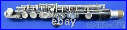 YAMAHA Piccolo YPC-31 genuine hard case black music wind instrument used