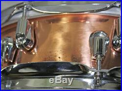 YAMAHA Snare Drum SD6440 copper shell 14x4 piccolo
