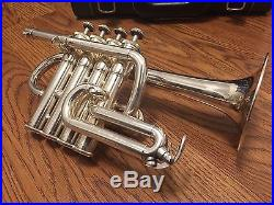 Yamaha 6810S piccolo trumpet in silver