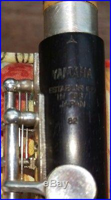 Yamaha Piccolo YPC-82 model in Grenadilla/Blackwood with Silver Plated headjoint