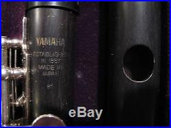 Yamaha Professional Piccolo YPC 81 with two heajoints Grenadilla and Silver