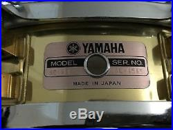 Yamaha SD493 Brass Piccolo 3.5x14 Snare Drum