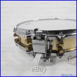 Yamaha SD-493 Brass Piccolo Snare Drum 3.5x14 Legendary