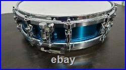 Yamaha Sd-435adg David Garibaldi Signature 14 X 3.5 Brass Snare Drum Pre-owned