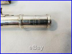 Yamaha Sterling Silver Open Holed 385II Flute with Yamaha 32 Piccolo