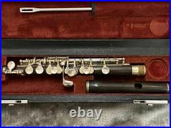 Yamaha YPC-62 Standard Wooden Piccolo withCase Woodwind Band Instrument JP