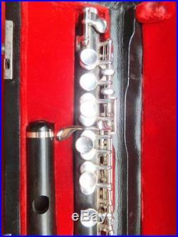 ZENTNER USA, VOLL-HOLZ Piccolo Flöte / Querflöte TRADITIONELL HANDGEMACHT