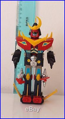 Zambot 3 Robot Vintage Toys Piccolo Difetto Leggere